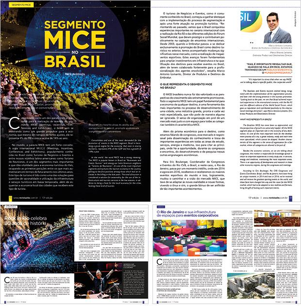Revista EBS - projeto editorial