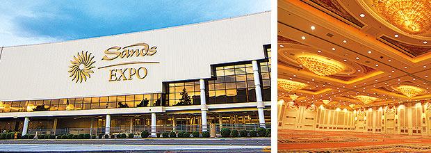 Sands Expo em Las Vegas