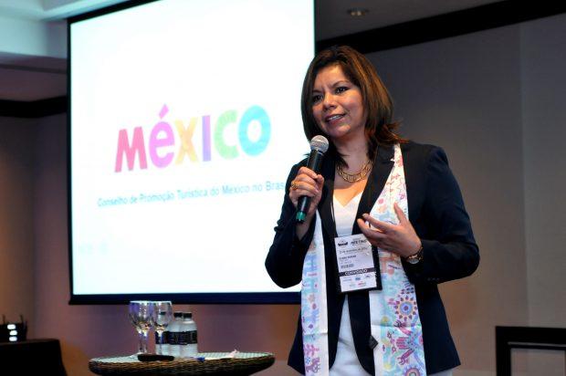 Diana Pomar - diretora do Conselho de Promoção Turístico do México (CPTM)