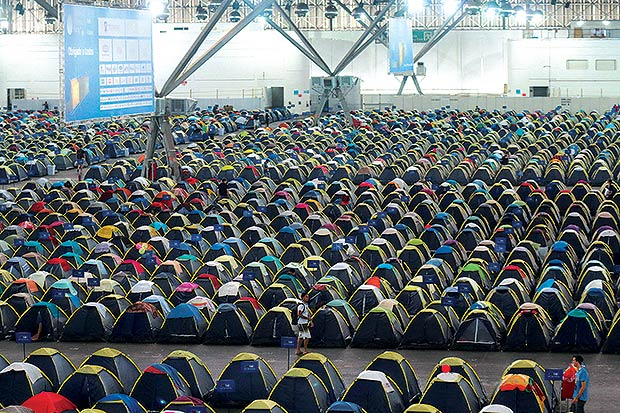 Camping Campus Party