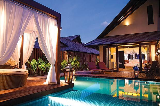 Beach Villa em Seychelles