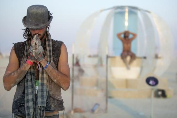 Daniel Strickland Burning Man