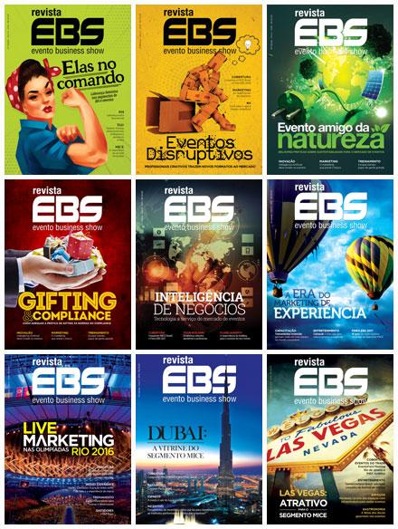 Últimas edições Revista EBS