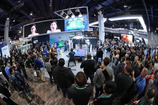 Expositores apresentam tendências soluções em AI e Robótica na CES 2020 - Foto: Divulgação