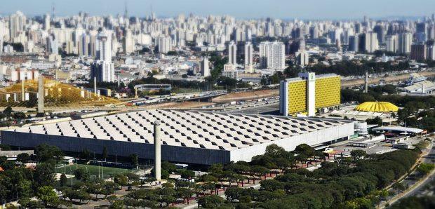 Vista aérea do Anhembi. Foto: José Cordeiro/ SPTuris
