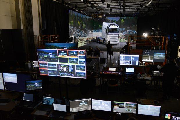 Making Of lançamento Volvo - Foto: Divulgação/Assessoria - realidade estendida