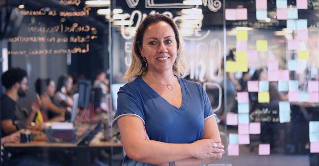 Melissa Guimarães, da Olist, dilemas do home office na Revista EBS